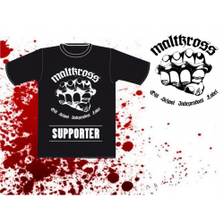 TSHIRT - MALTKROSS LABEL -...